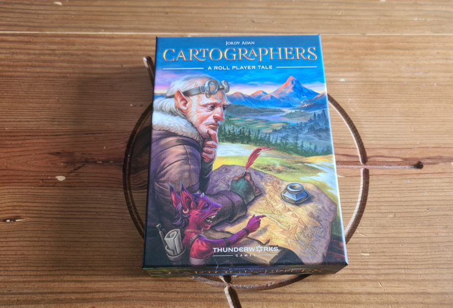 Cartographers – A Roll Player Review