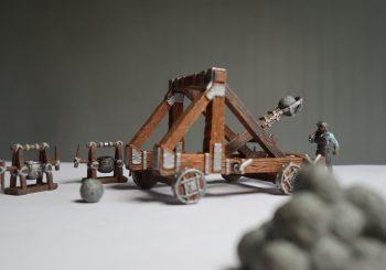 WizKids War Machines Battering Ram & Catapult Review