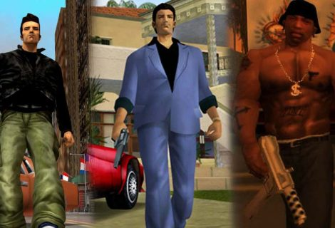GTA 3, Vice City And San Andreas Are Getting Remastered