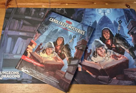 Ultra Pro Candlekeep Mysteries Cover Playmat Review