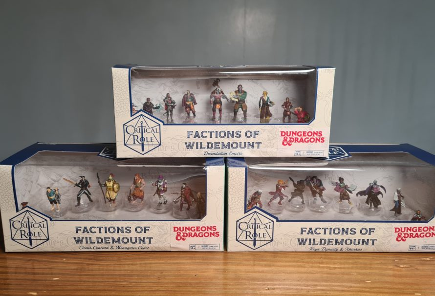 Critical Role Factions of Wildemount Miniatures Review