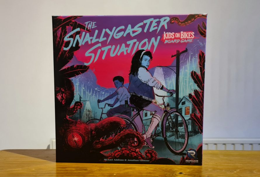 The Snallygaster Situation Review – Kids on Bikes Board Game